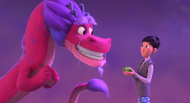 """Available June 11 on Netflix: """"Wish Dragon"""""""
