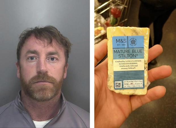 Britain Crime Cheese
