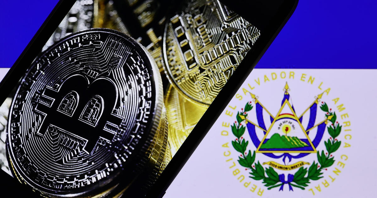 El Salvador becomes first country to adopt bitcoin as legal tender - CBS News