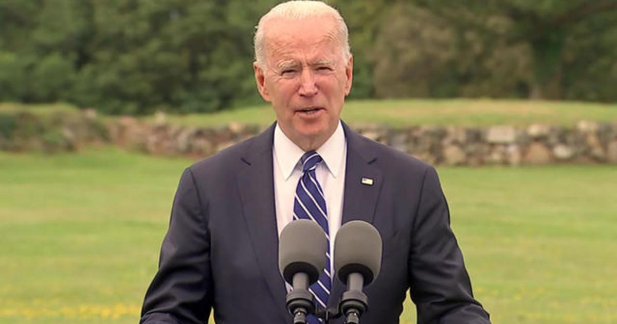 Special Report: Biden speaks on global COVID-19 vaccine effort