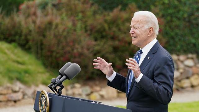 U.S. President Joe Biden visits St. Ives in Cornwall