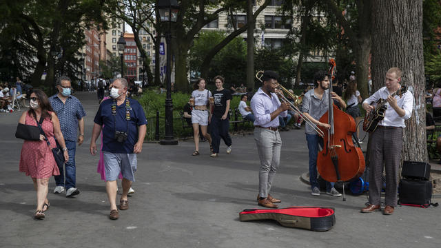 NYC Is Roaring Back To Life After Pandemic Emptied Its Streets