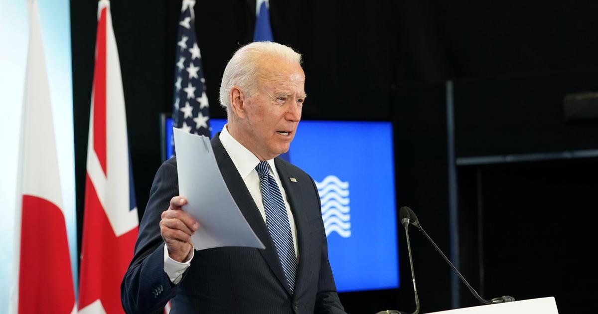Biden at G-7 summit: