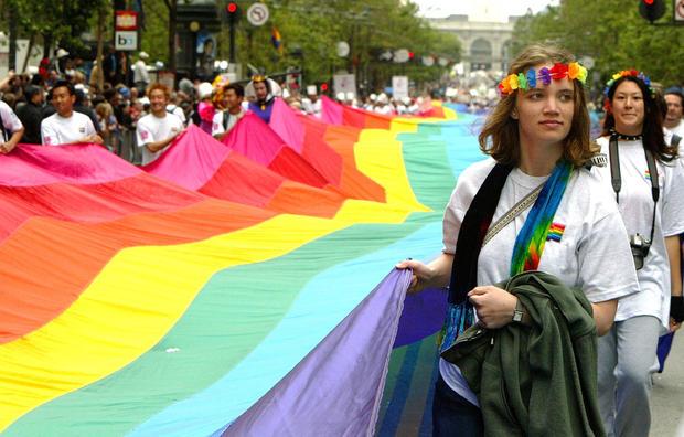 Gay Pride Parade In San Francisco
