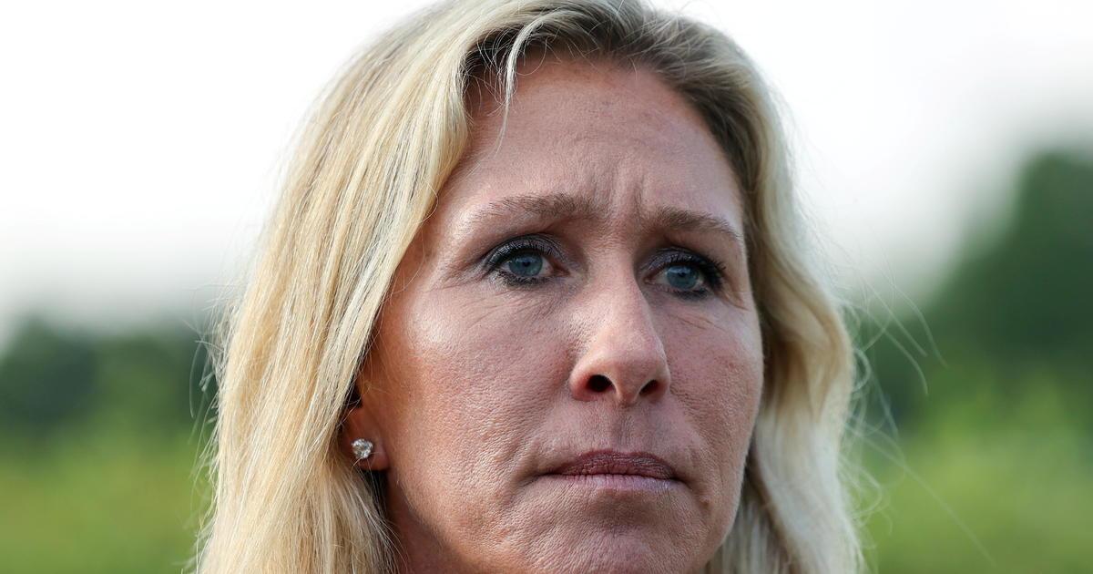 Marjorie Taylor Greene apologizes for masks-Holocaust remark