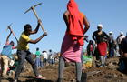 'Diamond rush' grips South African village after the discovery of unidentified stones