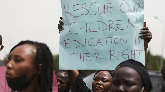 NIGERIA-DEMONSTRATION-KIDNAPPING