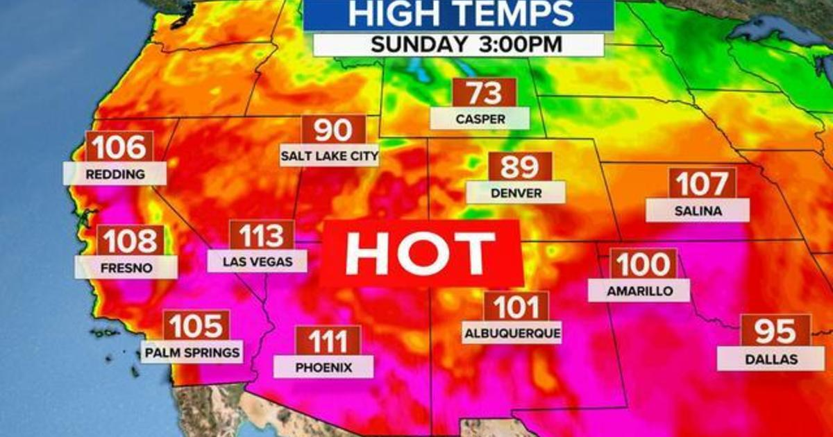 Extreme heat wave and drought continues in the West