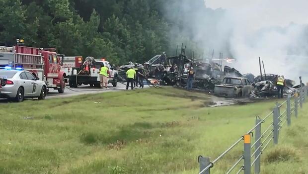 Alabama Crash Scene