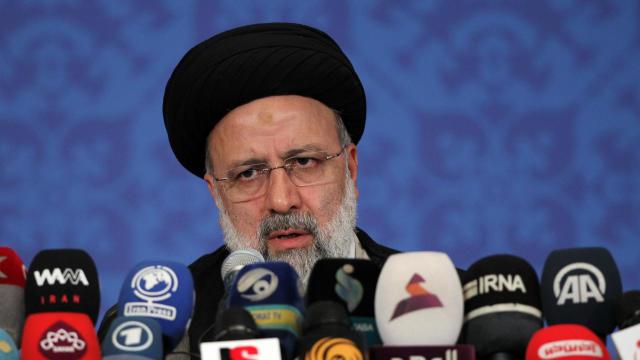 Press conference of Iran's new President Ebrahim Raisi