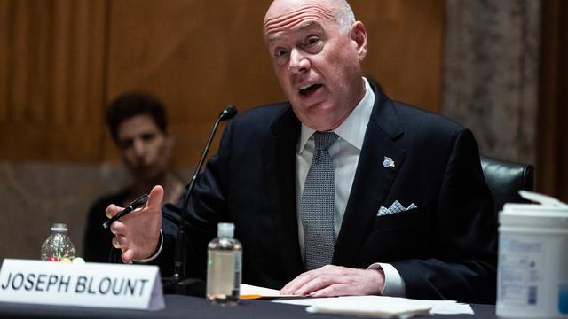 Colonial Pipeline CEO Joseph Blount Testifies Before Senate Homeland Committee