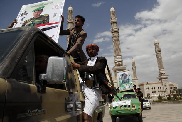 Houthis Offensives On Marib Province In Yemen 2021