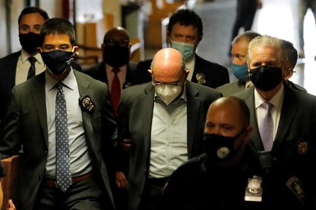 Trump Organization chief financial officer Allen Weisselberg attends his arraignment hearing