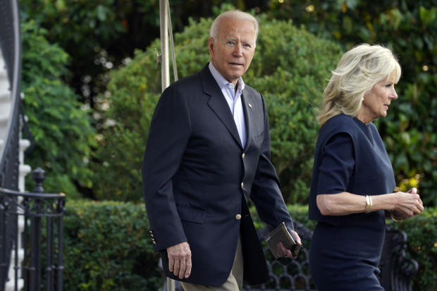 President Biden And First Lady Travel To Florida