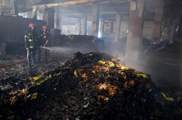At Least 52 People Killed in Bangladesh Factory Fire After Workers Were Trapped Inside by Illegally Locked Door