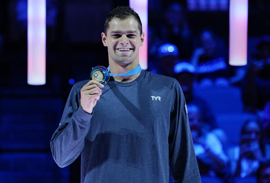 """Olympic swimmer Michael Andrew defends decision to not get vaccinated before Tokyo, calls it a """"risk"""" he's willing to take"""