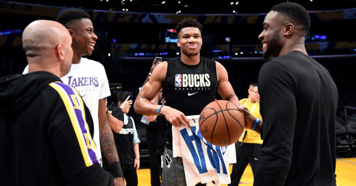 Giannis, Thanasis and Kostas Antetokounmpo become first trio of brothers to win NBA championships