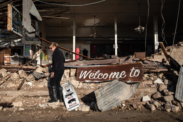 Tornado Causes Damage In Bertram, Texas