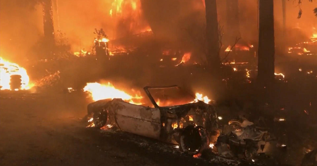 California's largest wildfire forces over 8,000 evacuations as residents scramble to protect property