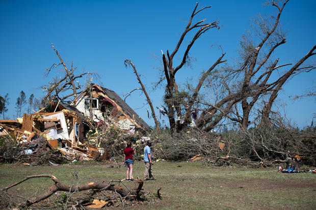 At Least 30 Dead As Severe Storms Spawn Tornados In Southern U.S.