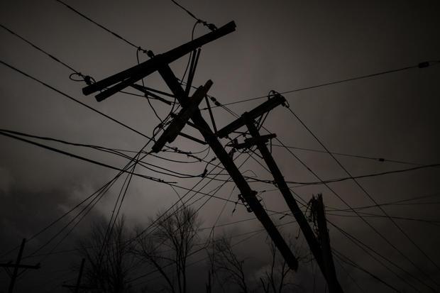 Tornado Hits Nashville, Tennessee