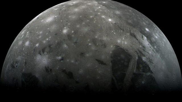 Ganymede is a moon of Jupiter.