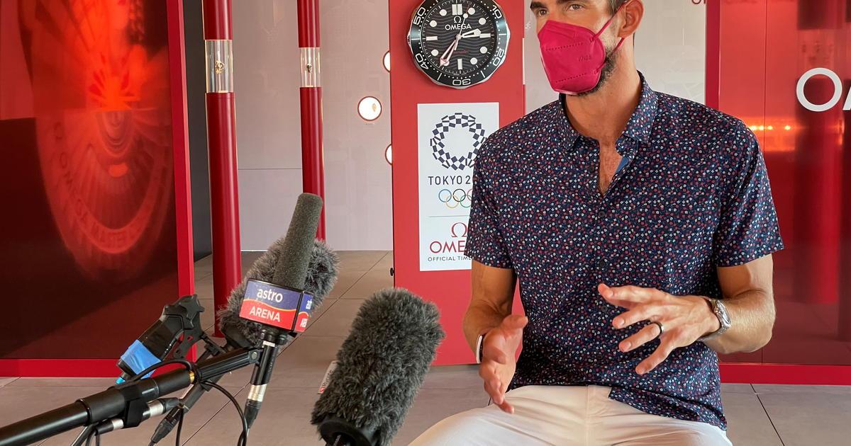 """Michael Phelps says Simone Biles' anguish """"broke my heart"""""""