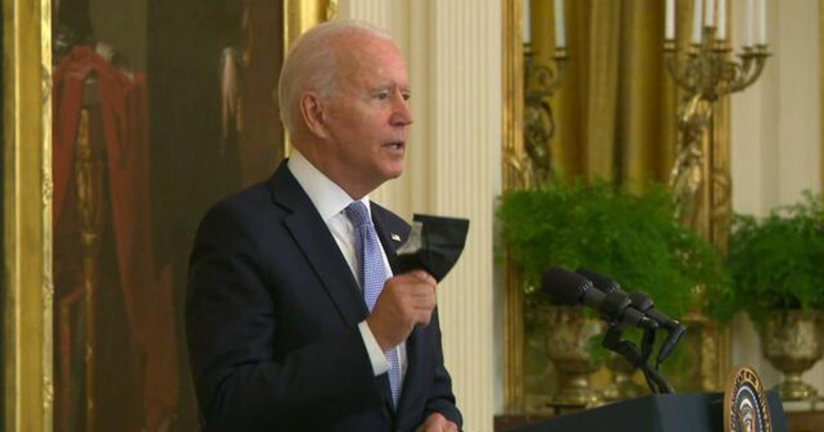 President Biden unveils new vaccine rules for federal workers, incentives for unvaccinated Americans