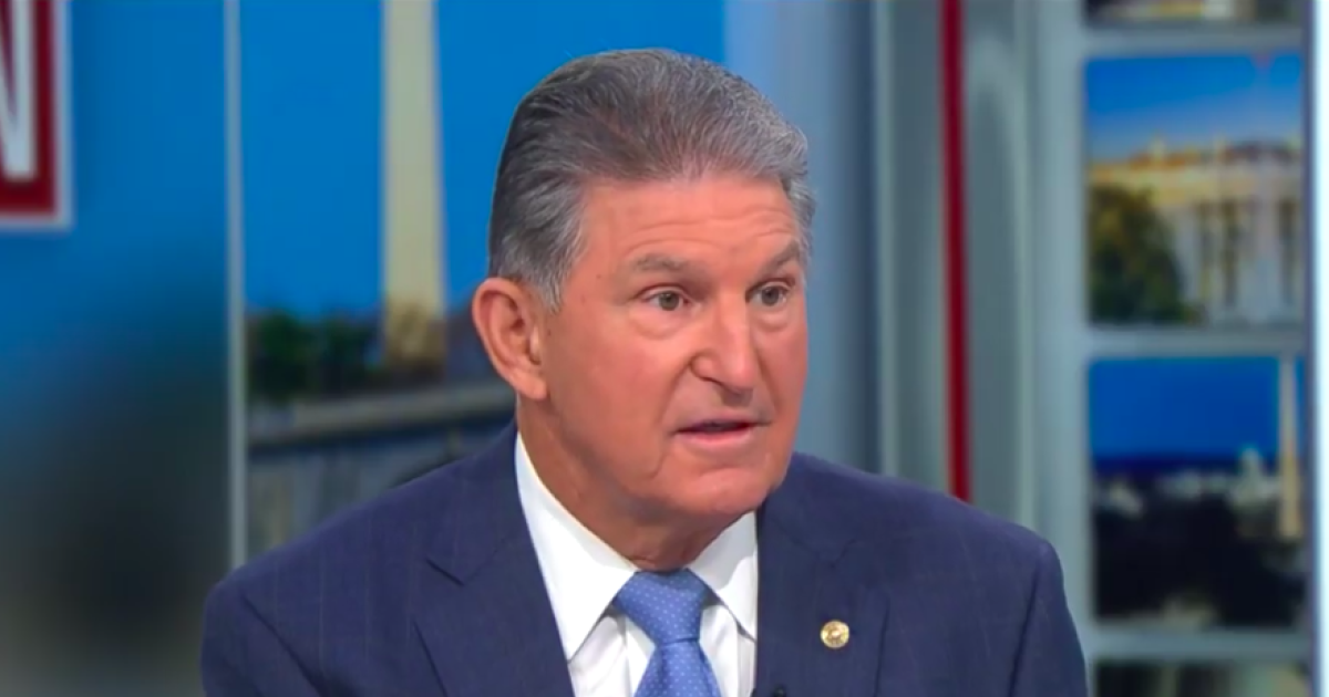 Manchin says Senate wants to pass infrastructure bill by Thursday