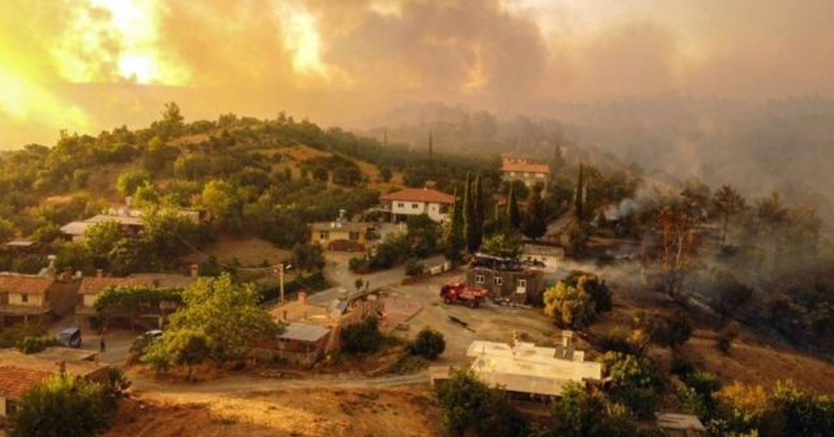 WorldView: Wildfires devastating Turkey's southern coast; Myanmar coup leader names himself prime minister
