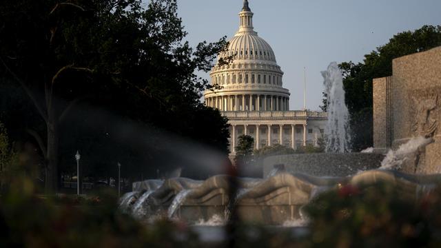 Senate Holds Procedural Vote On Infrastructure Deal