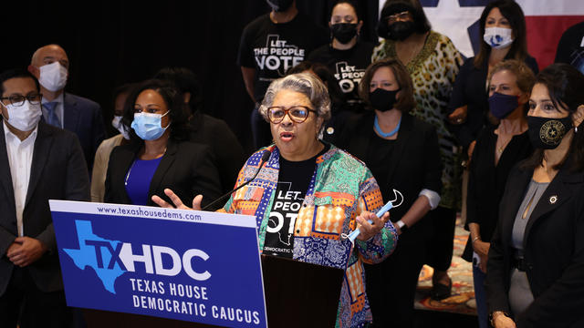 Texas House Democrats Breaking Quorum In D.C. Hold News Conference
