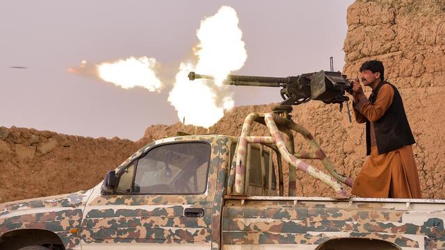 TOPSHOT-AFGHANISTAN-CONFLICT-MILITIA