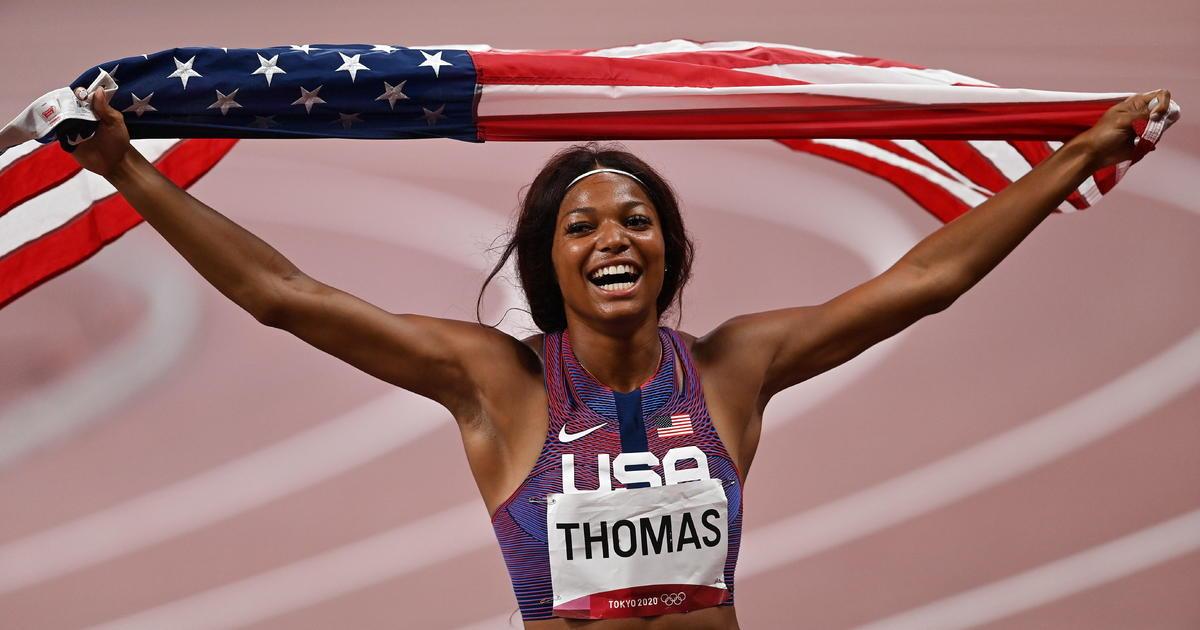 Harvard grad Gabby Thomas wins bronze in women's 200-meter final in Tokyo