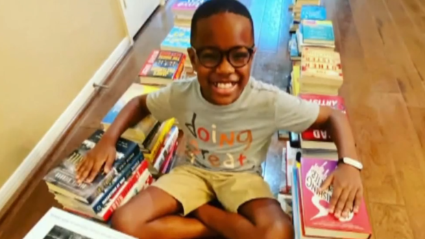 Texas Boy Orion Jean Hopes to Share His Love of Reading With Thousands of Children