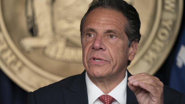 Governor Andrew Cuomo holds press briefing