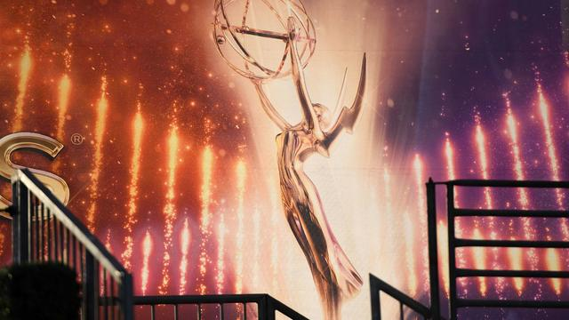 An Emmy Awards statue is pictured ahead of the 71st Emmy Awards on September 21, 2019, in Los Angeles, California.