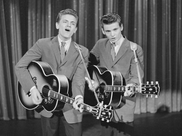 The Everly Brothers Perform On 'The Ed Sullivan Show'