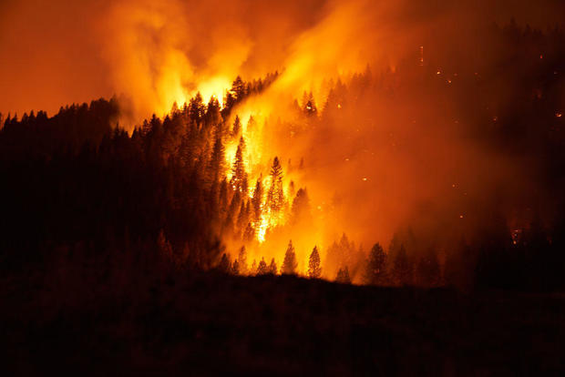 California's Massive Dixie Fire Continues To Grow, Charring Over 700,000 Acres