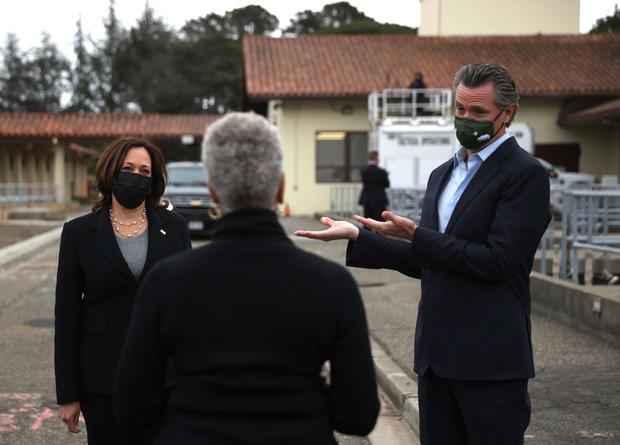 Vice President Kamala Harris Visits Oakland, California
