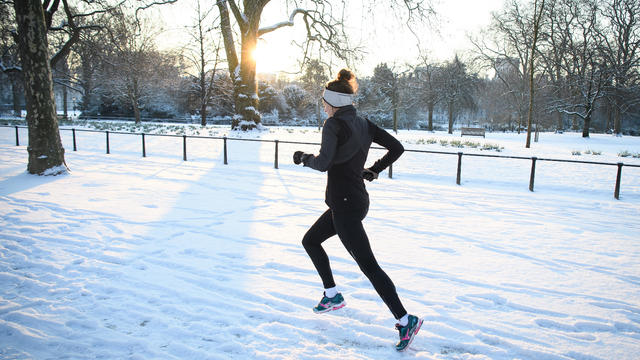 Britain Freezes As Siberian Weather Sweeps Across The Country