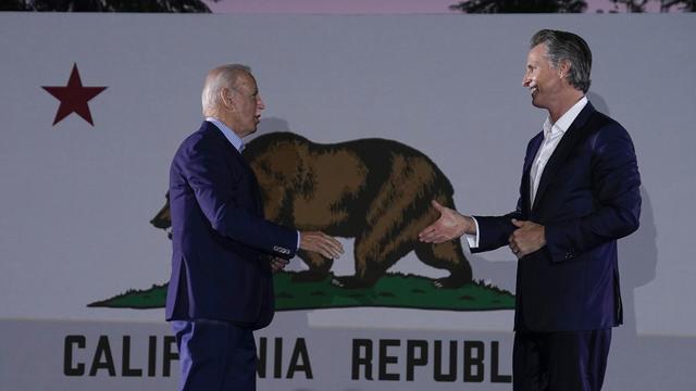 President Biden, Governor Gavin Newsom
