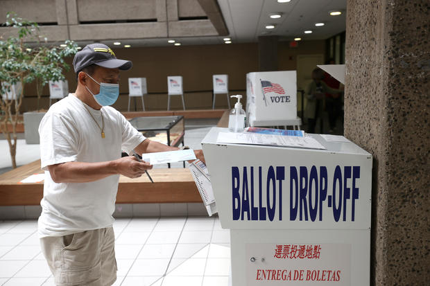 Californians Head To The Polls To Vote In Recall Election