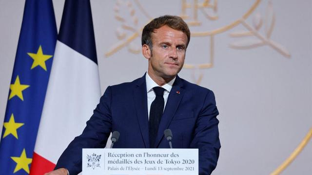 FRANCE-OLY-2020-2021-TOKYO-FRA-POLITICS