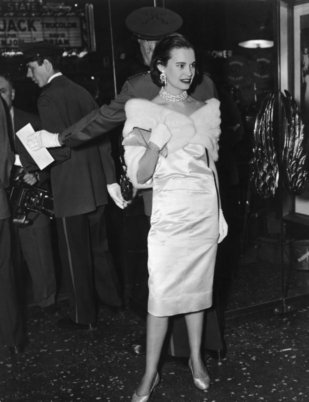 Gloria Vanderbilt at Movie Premiere