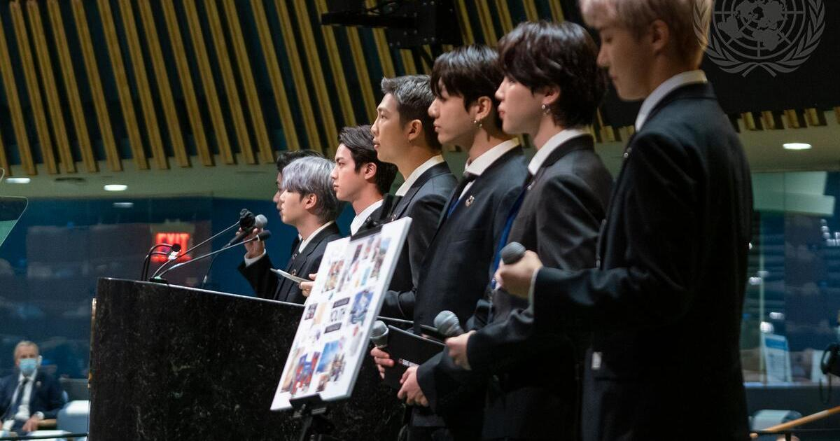 K-pop superstars BTS lend their voices to U.N.'s push for sustainable development