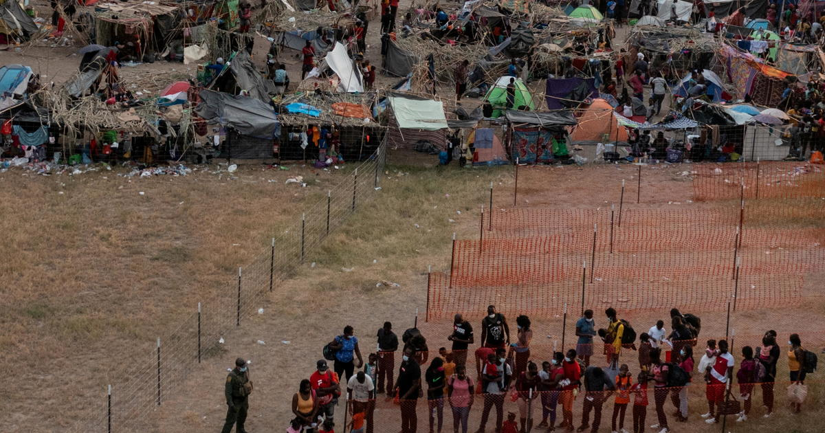 Many Haitian migrants in Texas border town of Del Rio being released into U.S.: AP