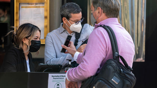 San Francisco Leads Cities In Demanding Proof Of Vaccination