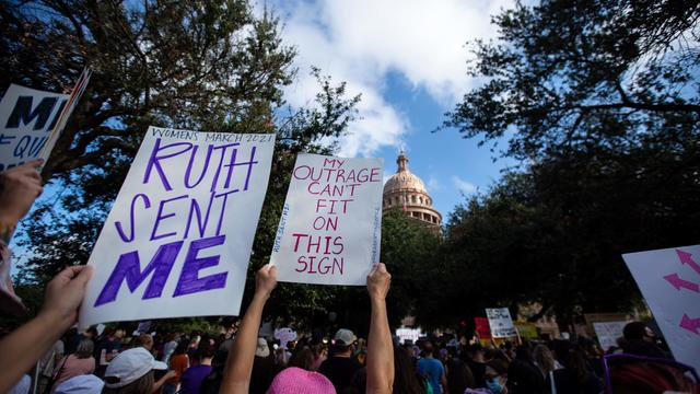 Marches Held Nationwide In Support Of Reproductive Rights