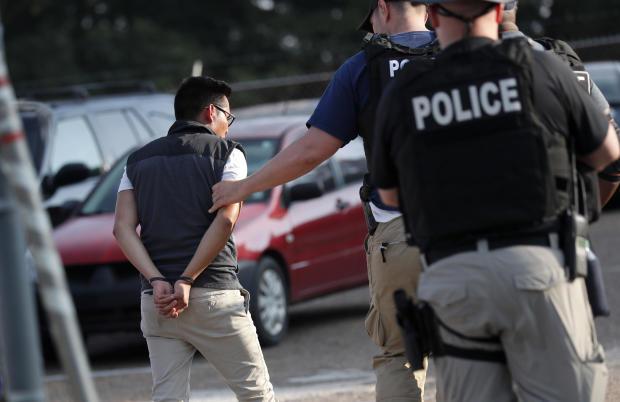 APTOPIX Immigration Food Plant Raids
